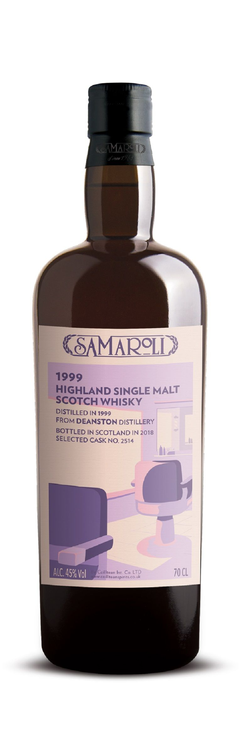 1999 Deanston - Highland Single Malt Scotch Whisky - ed. 2018 - 70 cl