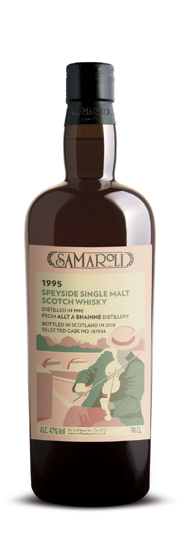 1995 Allt-A-Bhainne - Speyside Single Malt Scotch Whisky - ed. 2018 - 70 cl