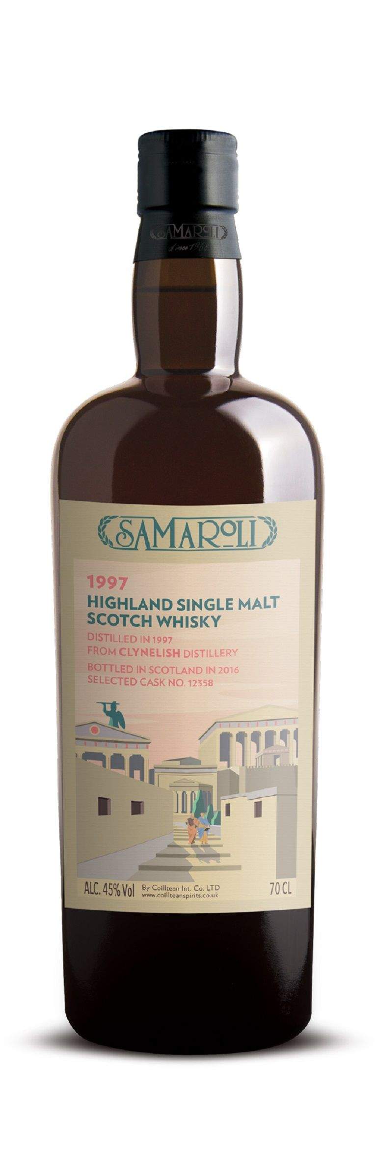 1997 Clynelish - Highland Single Malt Scotch Whisky - ed. 2016 - 70 cl