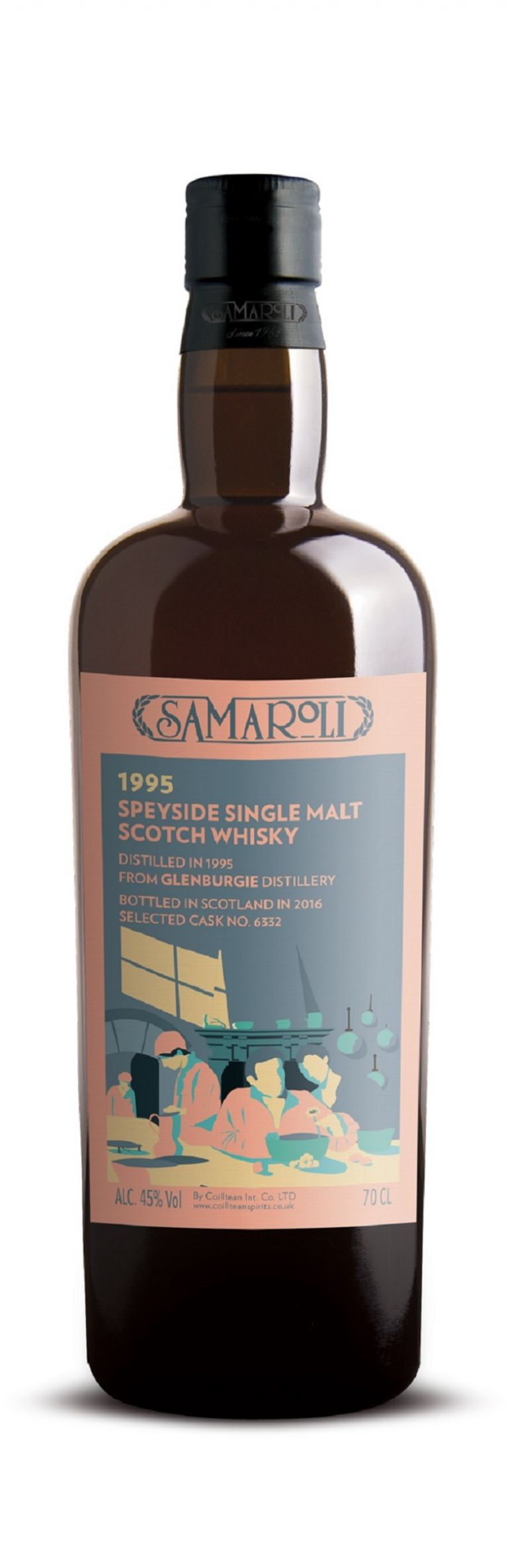 1995 Glenburgie - Speyside Single Malt Scotch Whisky - ed. 2016 - 70 cl
