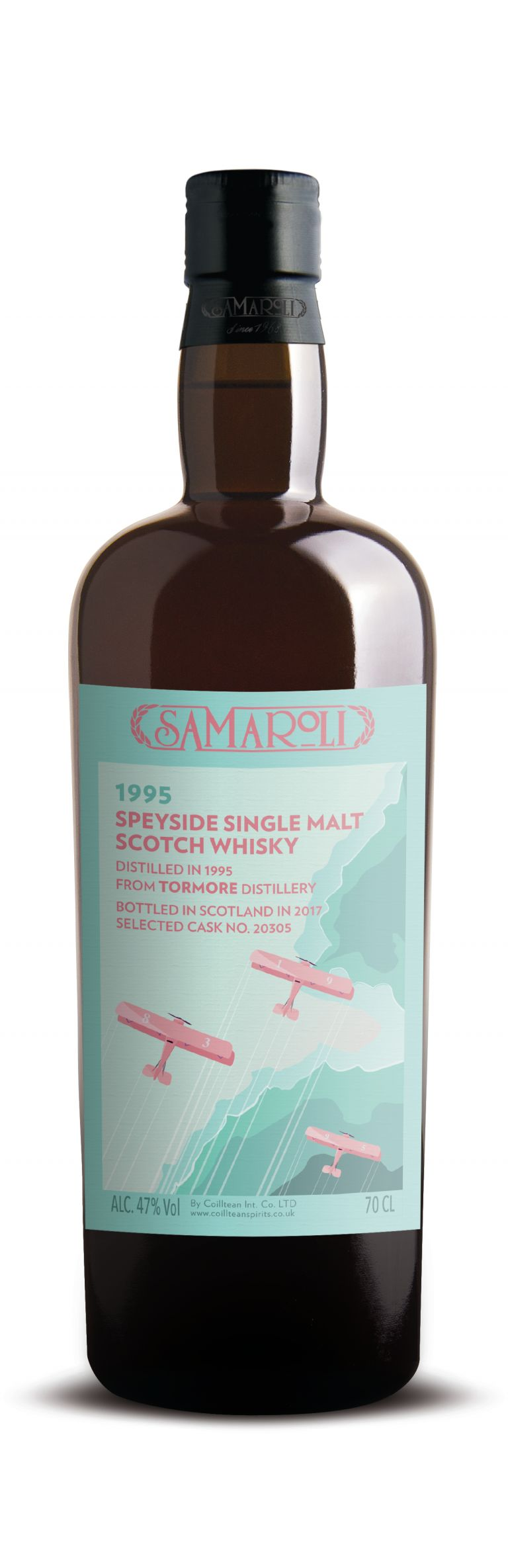 1995 Tormore -  Speyside Single Malt Scotch Whisky - ed. 2017 - 70 cl